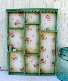 cottage kitchen shadow box - could go anywhere