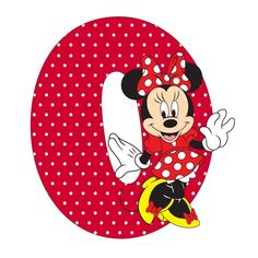 Letter O Minnie Mouse