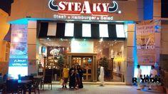 Burger and Steak at Steaky Riyadh Restaurant Riyadh, Luxury Life, Steak, Restaurant, Food, Luxury Living, Diner Restaurant, Essen, Steaks