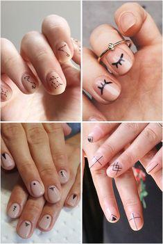A Febre do Minimalismo: Nail Arts