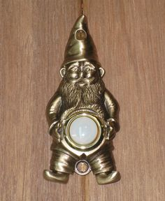 Gnome Doorbell.. totally awesome
