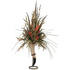 pheasant feather arrangement
