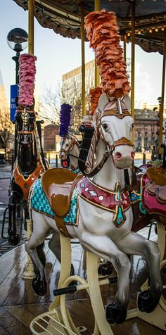 by Emily Green ~ Carousel Horses