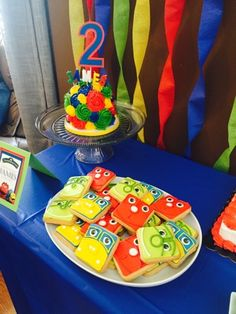Chuggington-themed party! 2-year old train party