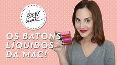 Review - os batons líquidos da MAC! - TV Beauté | Vic Ceridono