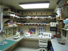 Craft Room layout ideas