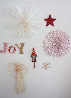 Christmas paper decorations  #KidspotChristmas.