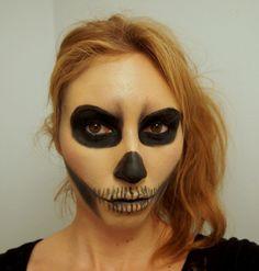 #Halloween makeup tutorial: Lady Gaga's Born This Way skeleton