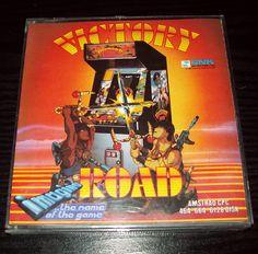 Victory Road (1988), Amstrad disk