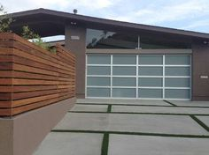 Mid Century Modern 1 - Midcentury - Garage And Shed - San Diego - Envision Landscape Studio Inc.