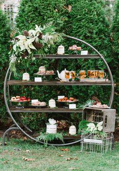 Cozy Donuts Dessert Bar Wedding Inspiration