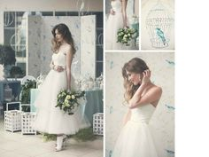 Przepiękna suknia ślubna, model 1413