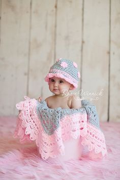 Beautiful crochet in pink