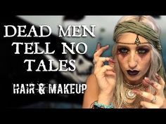 PIRATE TRANSFORMATION | hair & makeup | DEAD MEN TELL NO TALES - Pirate Makeup - pirate cosplay - Halloween makeup 2017 - Pirates of the Caribbean Dead Men Tell No Tells hair and makeup - girl jack sparrow