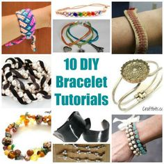 A bracelet is a great way to add that extra touch to your daily wardrobe, and because of the versatility in styles, colors and materials to make them, the options for what kinds of bracelets to wea…