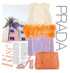 """PRADA"" by buddahbar ❤ liked on Polyvore featuring River Island and Prada"