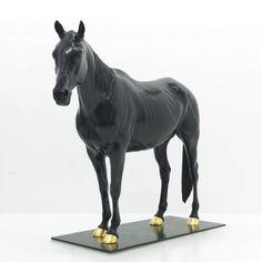 #Bronze #sculpture by #sculptor Wrightson and Platt titled: 'Equestrian sculpture (Bronze Horse Custom statue)'. #WrightsonandPlatt