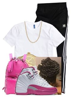 """"""""""" by doggydoddyfroggymoppy ❤ liked on Polyvore featuring adidas Originals, Michael Kors, Valentino and NIKE"""