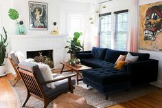 Your Gathered Home: A Bold & Badass Home in New Haven, CT - The Gathered Home