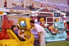 Wondercycles, these video-enhanced exercise bikes allowed guests to enjoy a light workout when visiting the Wonders of Life Pavilion in EPCOT.