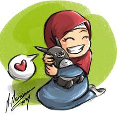 #islamic #chibi #muslim_girl #hijabi
