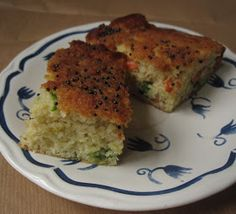 Lazy Giraffe Blog: Gujarati Recipe Series - Handvo, Savoury Cake