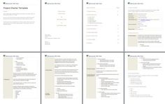 Project storyboard template google search servicedevelopment project charter template an 8 page project charter template that documents purpose scope pronofoot35fo Image collections