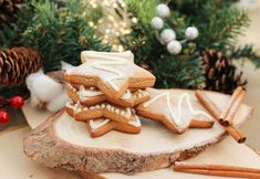 Delicious Cookie Recipes, Yummy Cookies, Yummy Food, Vanilla Essence, Gingerbread Cookies, Biscuits, Coconut, Sweets, Baking