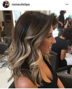 Mechas ombre para cabellos castaños - Beauty and fashion ideas Fashion Trends, Latest Fashion Ideas and Style Tips #FashionTrendsHair