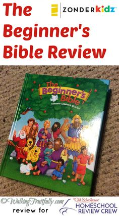 "The Beginner's Bible from Zonderkidz includes timeless children's stories told in a simple and short manner to convey the meaning without being too wordy or too ""dumbed down"". #hsreviews #BeginnersBible #ChildrensBible		@zonder"