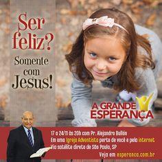 Só com Jesus! Saiba mais sobre esta semana especial clicando na imagem!