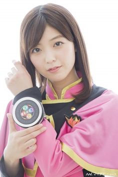 Mio Kudo (By: Ahmad Kurosaki Ichigo) All Power Rangers, Go Busters, Steve Harvey, Kamen Rider, Poses, Yoko, Actresses, Pretty, Lady