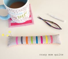 crazy mom quilts: the pincushion challenge continues