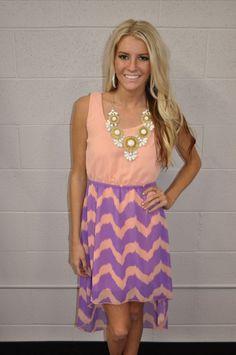 Modern Vintage Boutique - Serena Pink/Purple High Low Dress, $49.00 (http://www.modernvintageboutique.com/serena-pink-purple-high-low-dress.html)