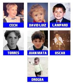 Chelsea Football Club Players.....