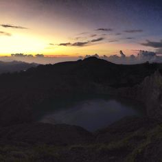 Kelimutu lake at Moni, Ende, Flores, NTT