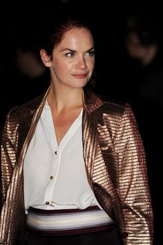 """Ruth Wilson Photos Photos - Actress Ruth Wilson attends the """"Never Let Me Go"""" premiere during the opening night of the 54th BFI London Film Festival at Odeon Leicester Square on October 13, 2010 in London, England. - Never Let Me Go - Premiere: Opening Night 54th BFI London Film Festival"""