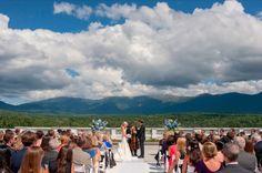 #5 #Bretton Woods #New Hampshire #Wedding #Ceremony #Couple #Bride #Groom