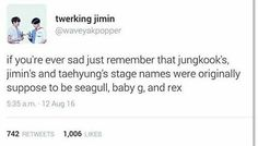 SO THIS IS WHY I KEEP SEEING JUNGKOOK AND SEAGULLS IN MEMES