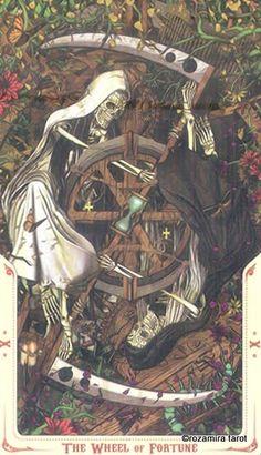 Santa Muerte tarot The wheel Pick A Tarot Card, Tarot Cards For Beginners, Symbolic Art, Online Tarot, Tarot Major Arcana, Tarot Learning, Wheel Of Fortune, Tarot Readers, Tarot Decks