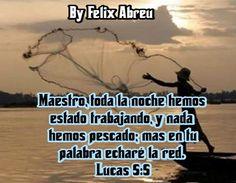 Imágenes Cristianas : En Tu Palabra Echare la Red