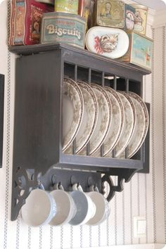 Love Love Love This Plate Rack The Cupboards W Glass