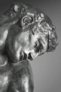 Auguste Rodin ( 1840 - 1917) - Adam, détail