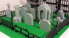 How To Build: LEGO graveyard - YouTube