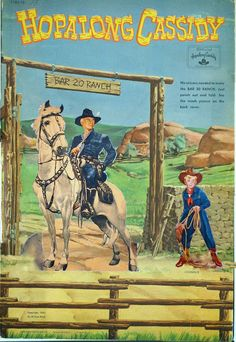Hopalong Cassidy punch out 1951 Whitman #1183 cut and uncut pages - Bobe Green - Picasa Webalbum
