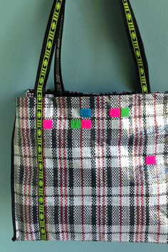 Tartan & Square Bag by NOUSH on Etsy: $45,-