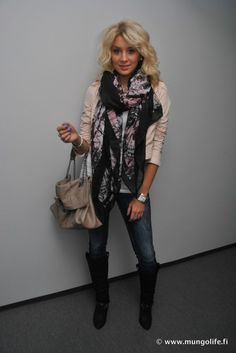 Love how I fall for fashion from my native land! Who knew most of my repins were from Finland!?!
