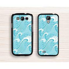 vivid spindrift Samsung case,art Galaxy S5 case,wave Galaxy S4 case,wave painting Galaxy S3 case,blue wave samsung Note 3 case,cool wave samsung Note 2 case,wave design samsung Note 3 case - Samsung Case