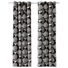 IKEA STOCKHOLM BLAD Pair of curtains IKEA Heavy material that