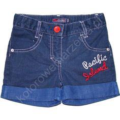 Jeansowe szorty z kolekcji Zatoka - śliczne!